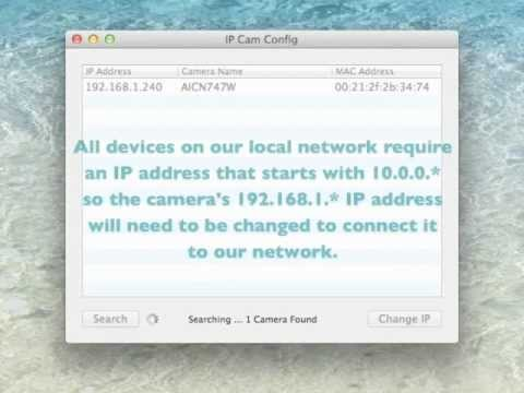 IP Cam Config (Mac)