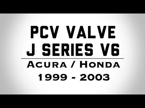 DIY:PCV Valve Honda Acura V6 J Series - How To Do It Yourself - BundysGarage