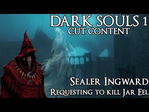 Dark Souls 1 Cut Content - Ingward Requesting to Kill Jar Eel