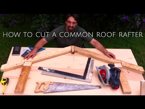 How To Cut a Roof Rafter