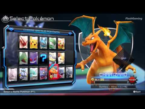 Pokken Tournament: Full Roster (All Character & All Support Sets)