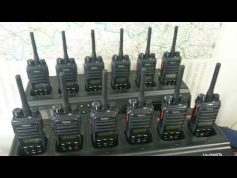 Hytera MD785 - PD565 group & private call