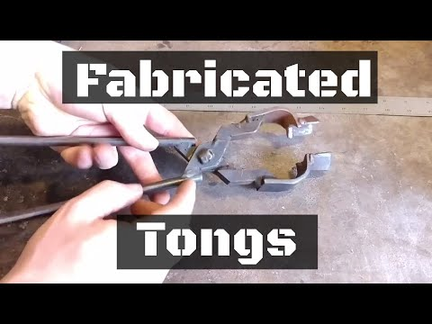 Fabricated Tongs (Talking About Blacksmith Tongs!)
