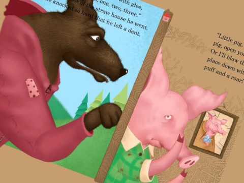 iPad interactive storybooks - Three Little Pigs
