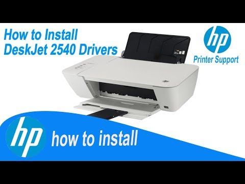 HP Deskjet 2540 Drivers , Full Installation Guide