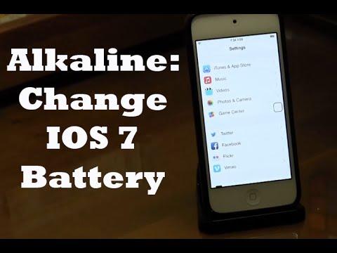 How to Change Status Bar Battery (Alkaline Cydia Tweak)