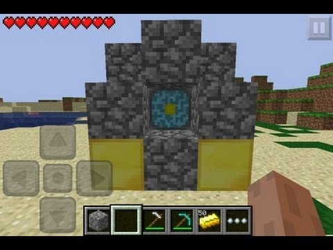 How to go to the Nether in Minecraft Pocket Edition