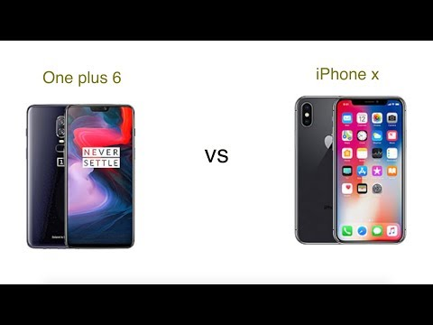 One plus 6 Vs iPhone x comparison | iSuperTech