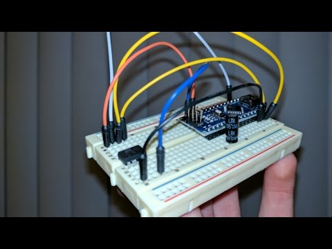 How to Program an ATtiny with Arduino Nano