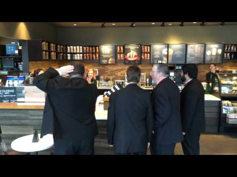 Ring of Fire at Starbucks