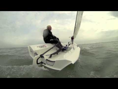 Test sailing the RS Aero - 'the 21st Century Laser'