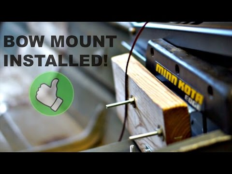 Jon Boat Project Bow Mount