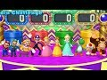 Mario Party 10 - All Characters Coin Challenge Gameplay