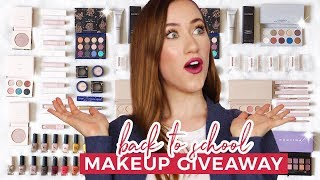 #1 Back To School Makeup Giveaway 😍 (OPEN)