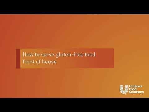 How to Serve Gluten Free Food without Cross Contamination | Unilever Food Solutions UK