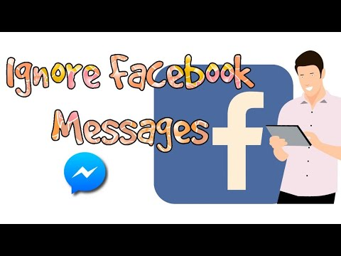 How to ignore messages from Facebook friends using Messenger ?