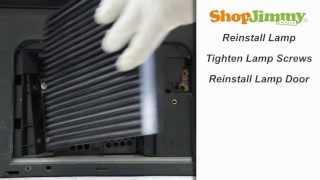 Toshiba Dlp Tv Repair Replacing Installing Toshiba Y66 Lmp Dlp Lamp H