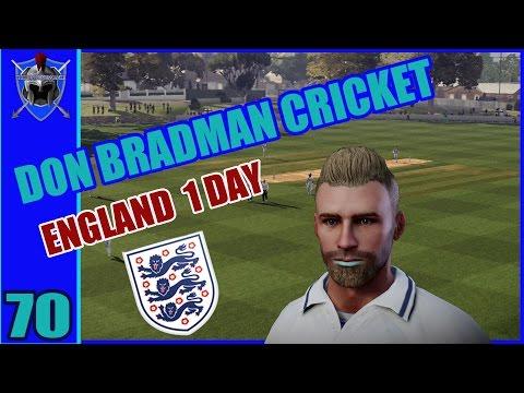 DON BRADMAN CRICKET on PS4 - BATSMEN CAREER # 70 - England One Day