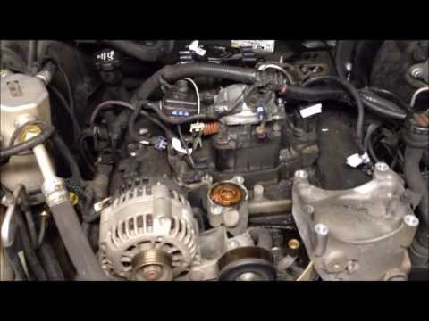 Chevy Blazer Intake Gaskets Replaced & Cooling System Rebuilt