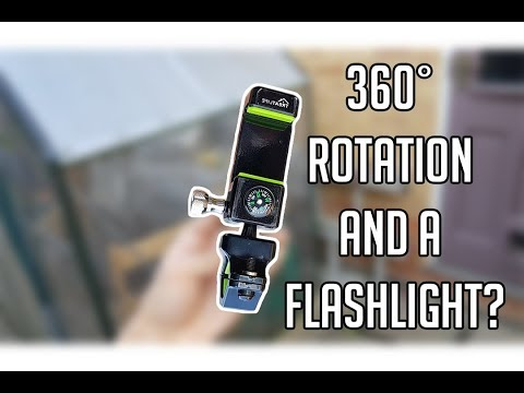Best Bicycle Phone Holder (clamp) Under 15£ - 360 rotation | Flashlight | Compass