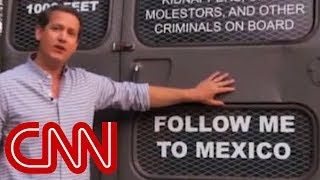 Georgia candidate's 'deportation bus': Follow me to Mexico