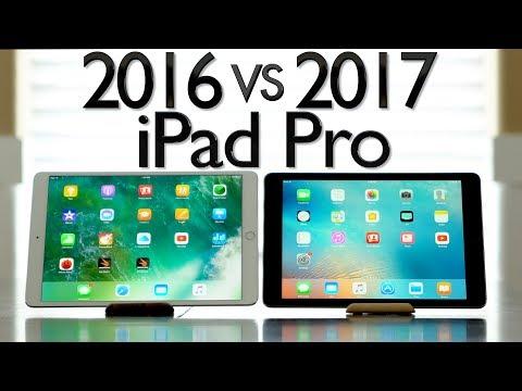 2016 vs 2017 iPad Pro Comparison - 10.5