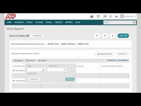 Introducing Simplified Reporting for ADP Workforce Now