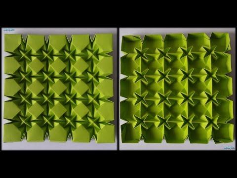 Tutorial 28 - Square Rhombus And Waterbomb Tessellation