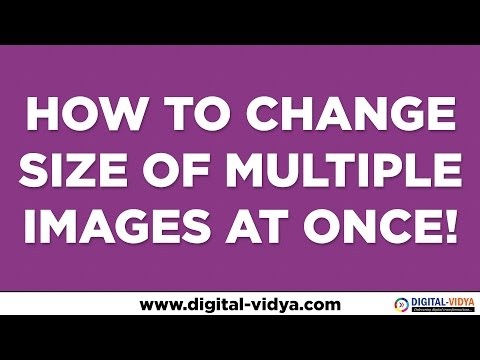 How to change size of multiple images at once