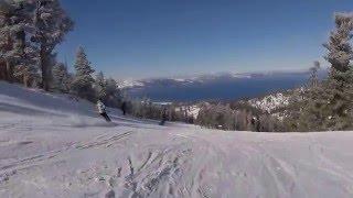 Fun Day at Heavenly Mountain Resort, Lake Tahoe