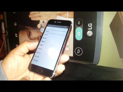 Iphone 6 talks how to turn off voice