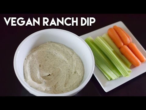 Healthy Vegan Ranch Dip