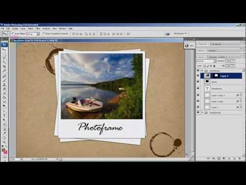 Photoshop: How to Paste Into Selection