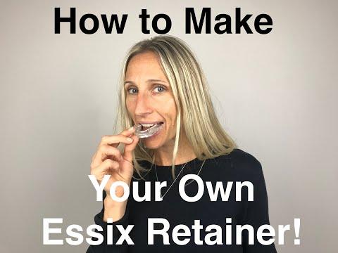 Orthodontic Retainer - Essix Start to Finish - playithub com
