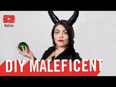 The BEST Maleficent DIY Tutorial!