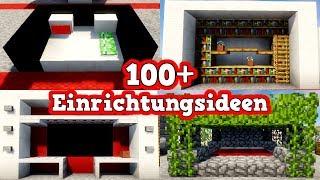 Minecraft Haus Einrichten Möbel Küche Bett Tutorial - Minecraft hauser einrichten deutsch