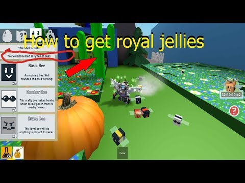 HOW TO GET ROYAL JELLIES ON BEE SWARM SIMULATOR