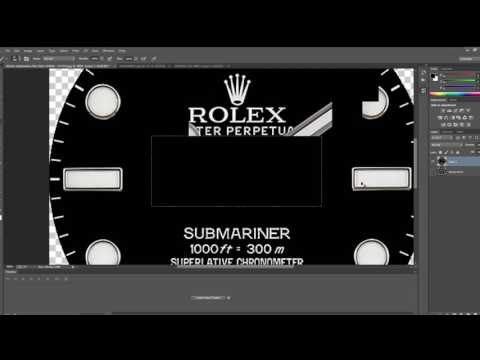 Rolex Submariner on Samsung Gear S3 with custom hands