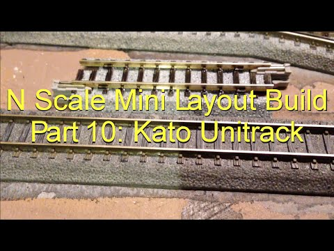 N Scale Mini Layout Build Part 10: Track