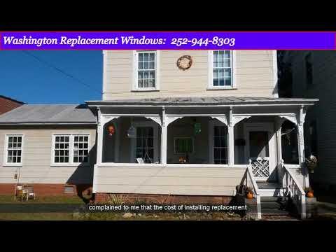 Replacement Windows Williamston NC | New Windows Contractor Williamston NC