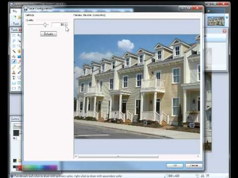 How to resize, compress and crop images in Windows using Paint.NET