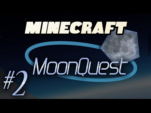 Minecraft Galacticraft - MoonQuest Episode 2 - Tinkering: Tinkers Construct, Smeltery Prep, Diamonds
