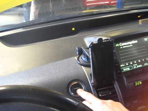 Prius won't turn off - Bad Combo Meter