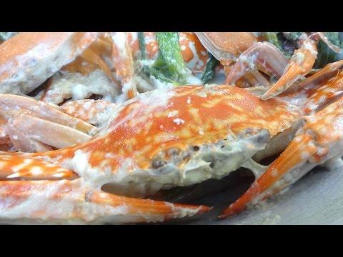 Tinunuang Lambay / Ginataang Alimasag / Crabs in Coconut Milk