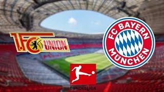 Union berlin vs Bayern Munich 2-0 Live Football Watchalong Bundesliga Bayern Munich vs Union berlin