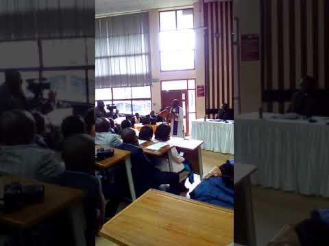 Full memorial ceremony for the late Nyeri Governor WAHOME Gakuru at Dedan KIMATHI university
