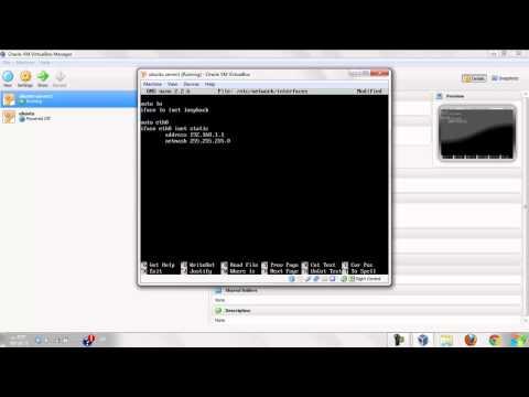How to configuring an static IP in Ubuntu 12.04 ( Arabic )