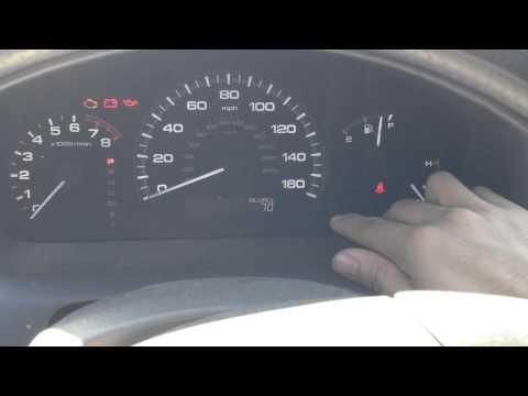 Reset Oil Maintenance Light - 2007 Honda Accord