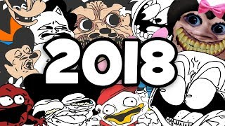 Sr Pelo 's Gags, Screams, And Faces - 2018
