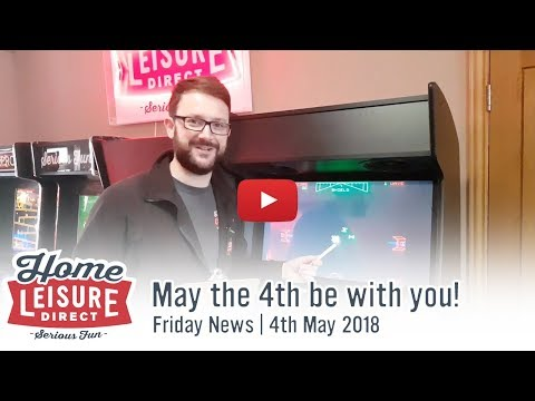 May the 4th be with you! | Friday News Video 4th May 2018